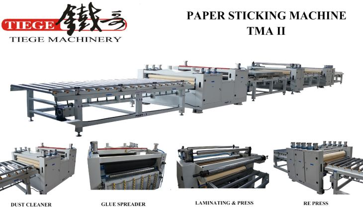 Paper Sticking Machine TMA II